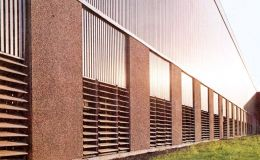 VO louvered wall ventilator