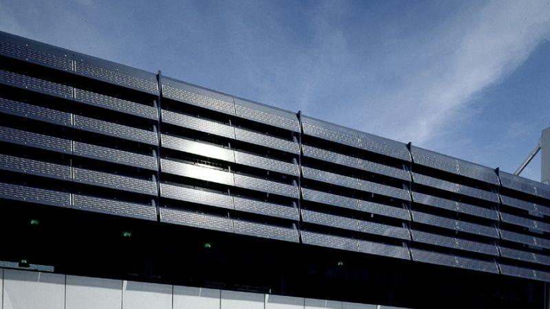Shadovoltaic Photovoltaic Glass Louver Colt America