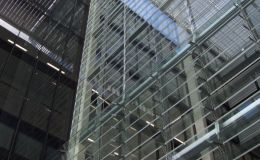 Shadoglass glass louvers
